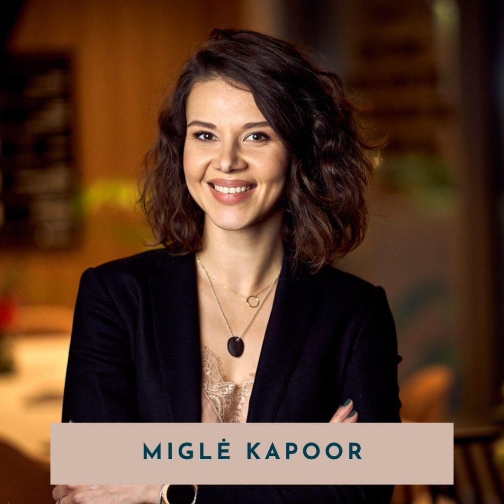 Migle Kapoor virtuali asistente gomama