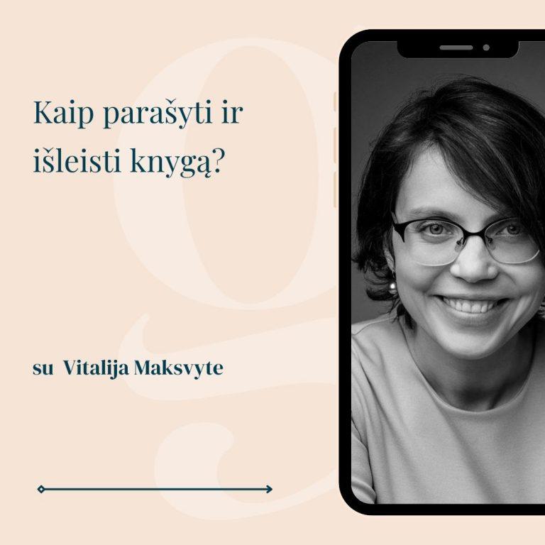 Vitalija Maksvytė Alma littera gomama