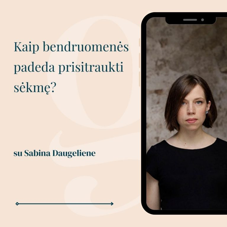 Sabina Daugeliene gomama podcast