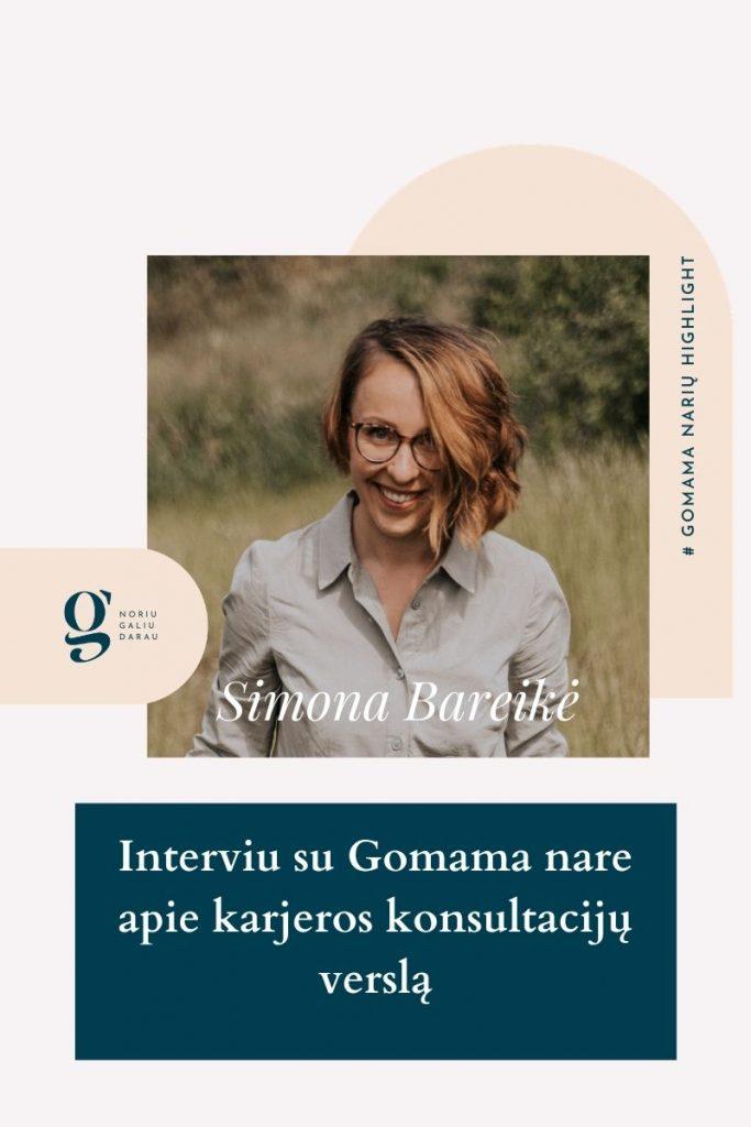 Simona Bareikė gomama