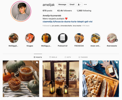 amelijak Instagram mama gomama