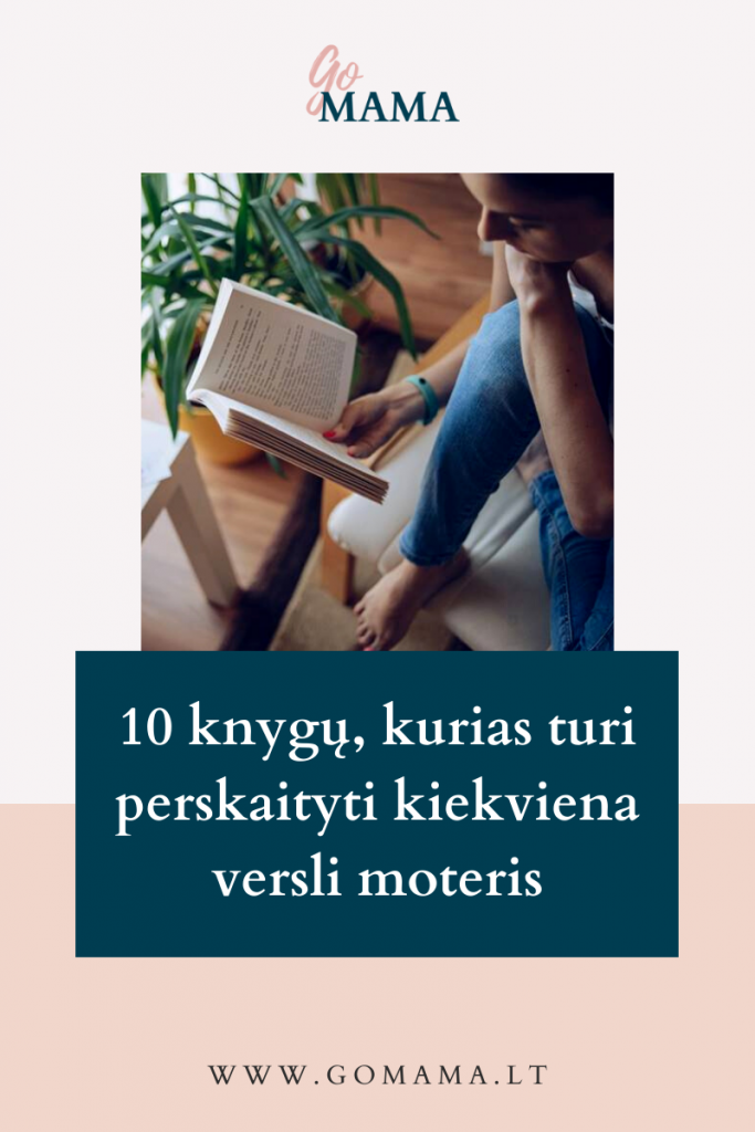 knygos verslios veiklios moterys gomama
